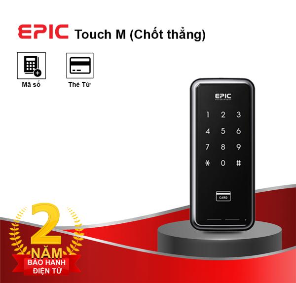 khóa điện tử epic touch m - chốt thẳng