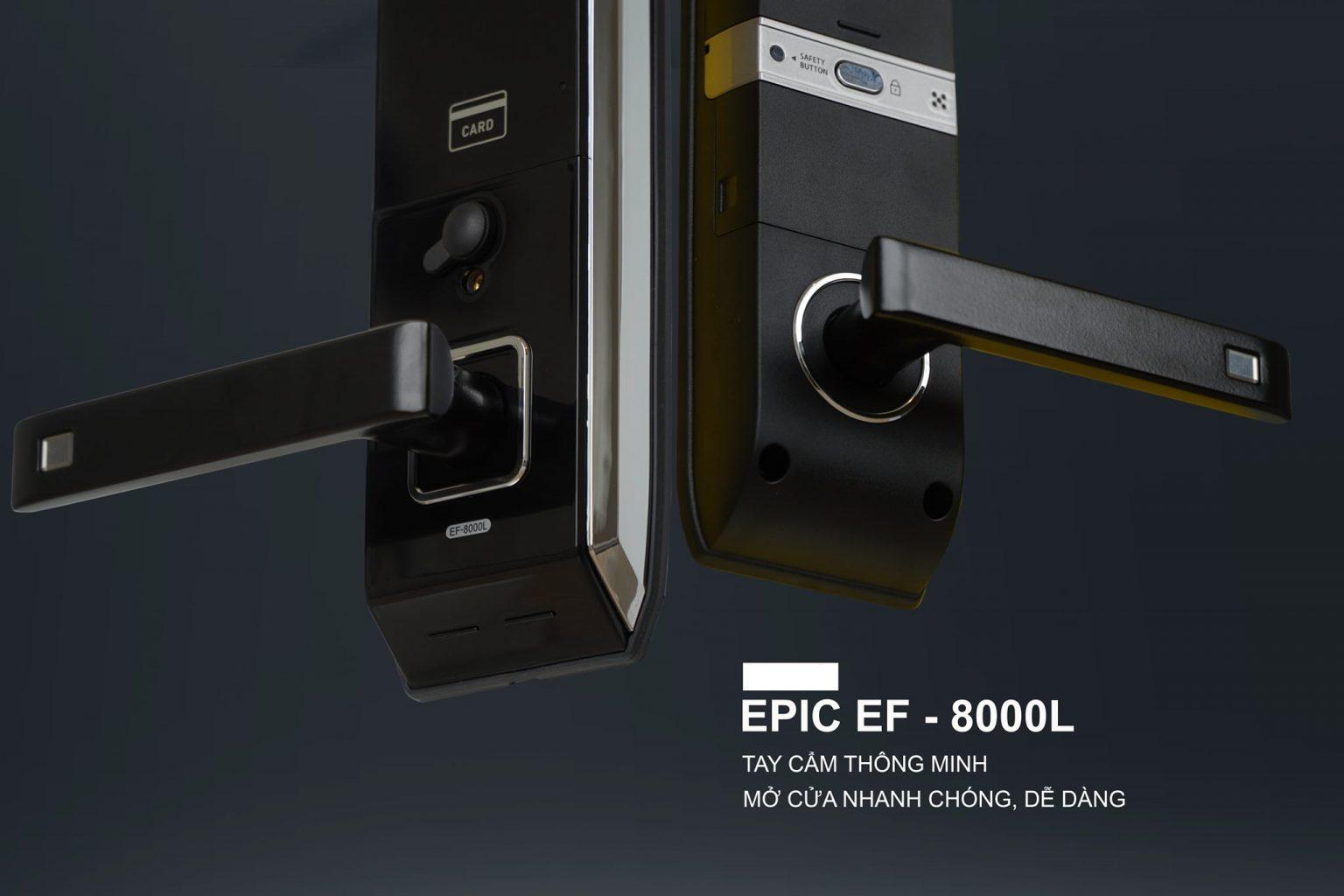 khóa vân tay điện tử Epic 8000L