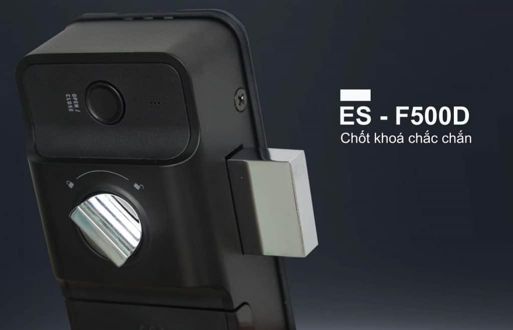 khoavantay epic F500D - chốt khóa chắc chăn