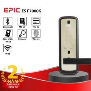 khoa van tay khach san Epic F7000K