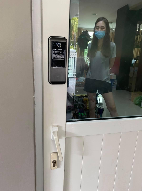 khóa điện tử epic triplex 3way cửa nhôm kính eurowindow