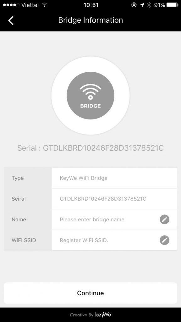 kết nối wifi với khóa cửa điện tử vân tay thông minh