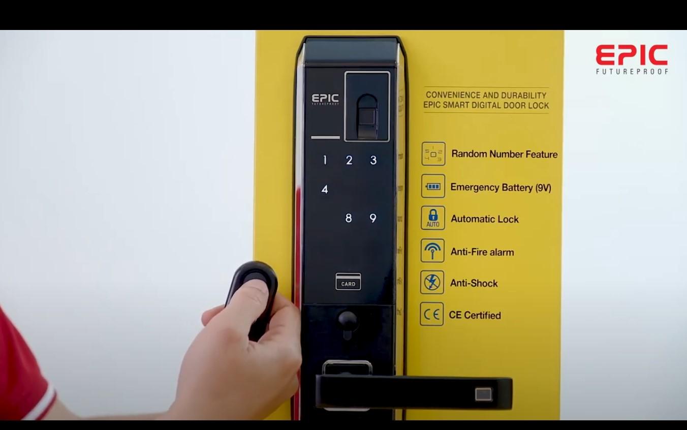 ấn open trên dktx để cài đặt remote - epic 8000L