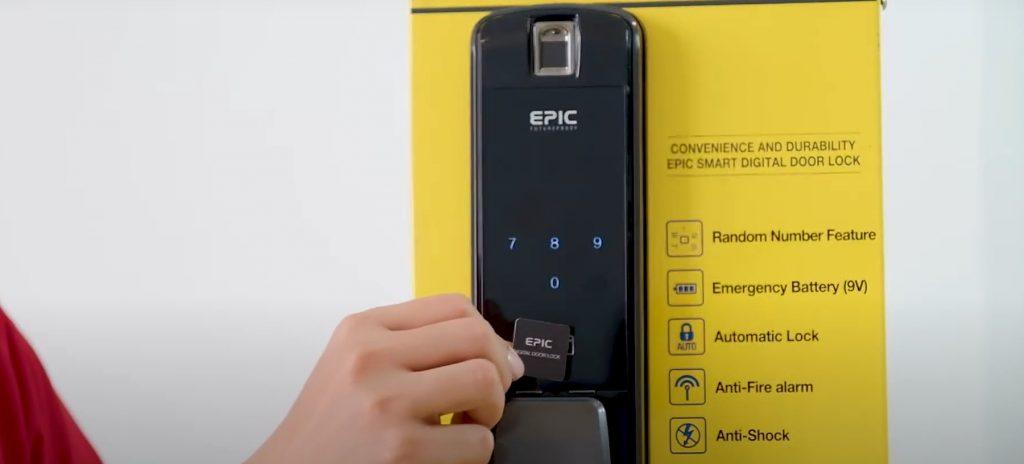 Cài đặt thẻ từ Epic P8800K